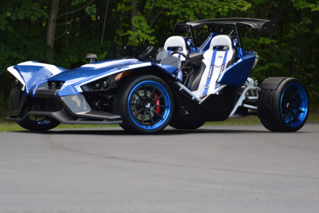 Four Wheeler With Rims: Four Wheel Conversion For The Polaris Slingshot