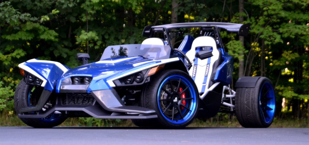Trakhamr Four Wheel Conversion For The Polaris Slingshot