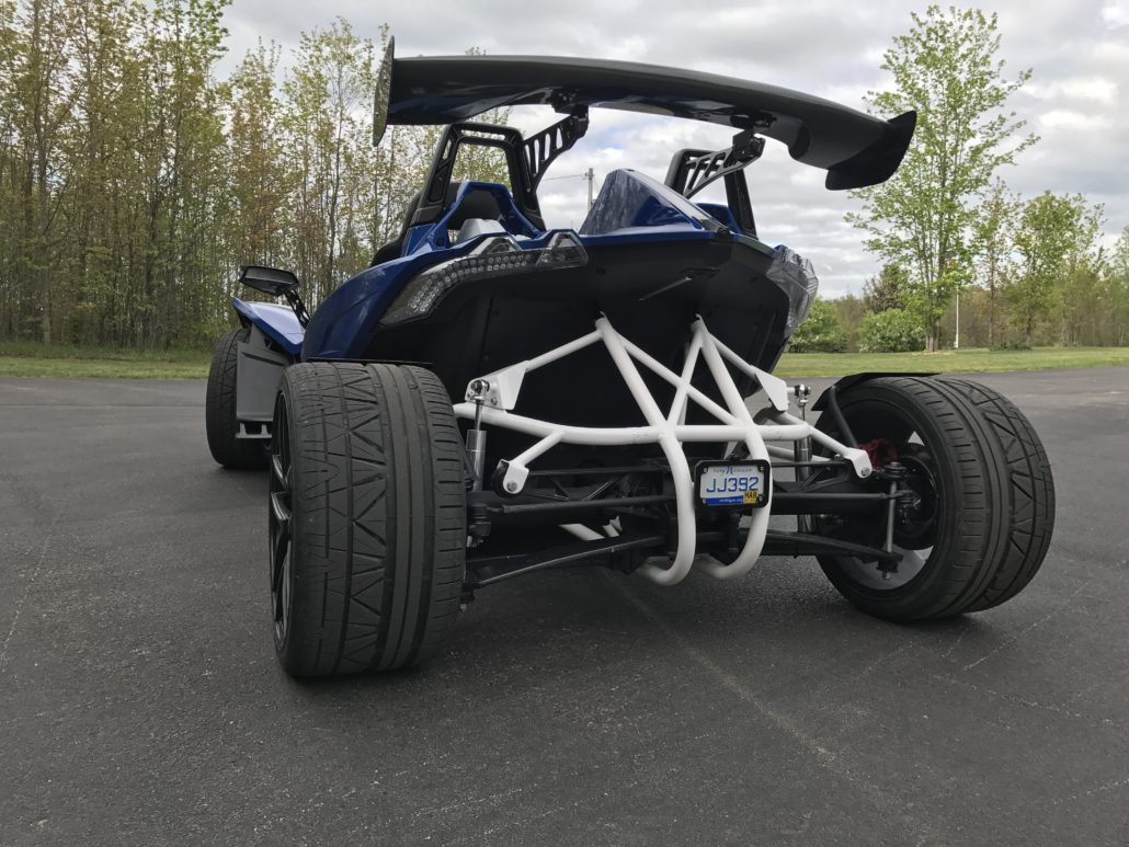 Trak Hamr Four Wheel Conversion For The Polaris Slingshot